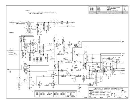 apc smart ups 1500 circuit board diagram circuit and