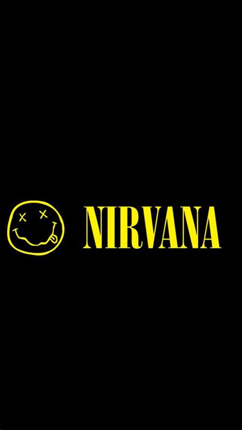 wallpaper tumblr nirvana background black nirvana tumblr yellow image