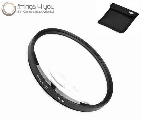 Filter Lensa Dhd 72 Mm Nd8 72mm 10 up filter macro lens nahlinse up up 72 mm diopter