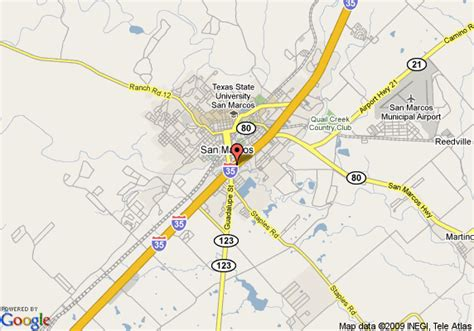 where is san marcos texas on a map map of comfort suites san marcos san marcos