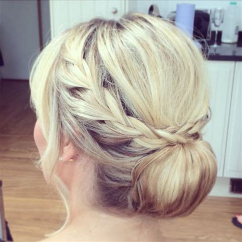 Wedding Hair Up Plaits by 1000 Images About Wedding Hair By Cameron On