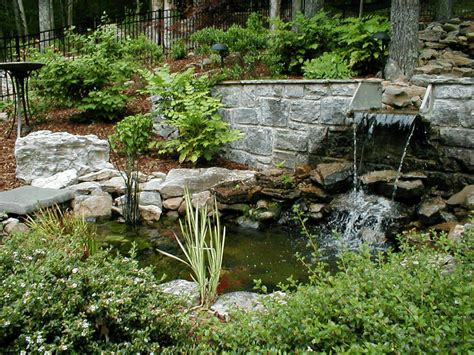 landscape water features water features