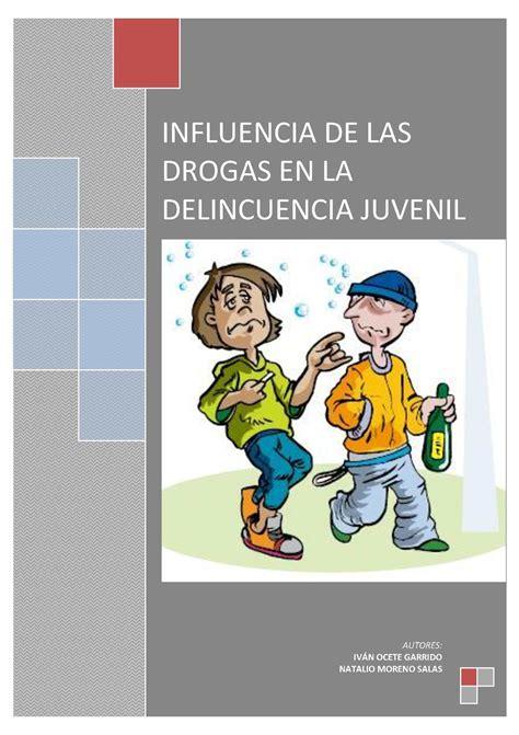 libro aprendiendo de las drogas calam 233 o influencia de las drogas en la delincuencia juvenil