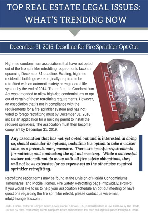 whats trending now whats trending now deadline for fire sprinkler opt out