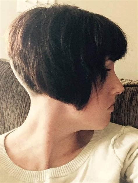 1000 images about undercut nape swag styles on pinterest 1000 images about new clippered nape bob and nuveau