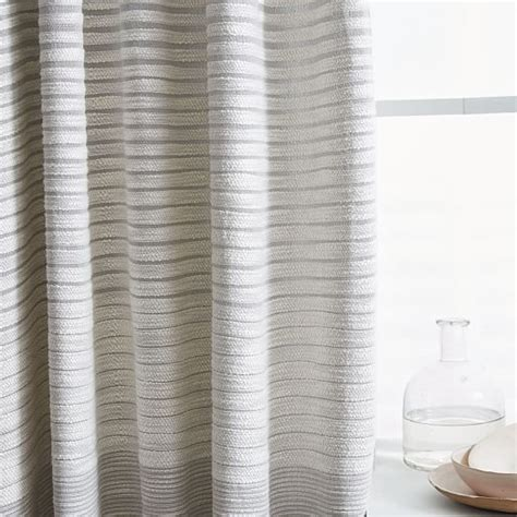 light grey textured curtains grey and white striped shower curtain elm curtain