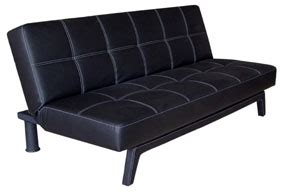 dhp delaney sofa sleeper black futon