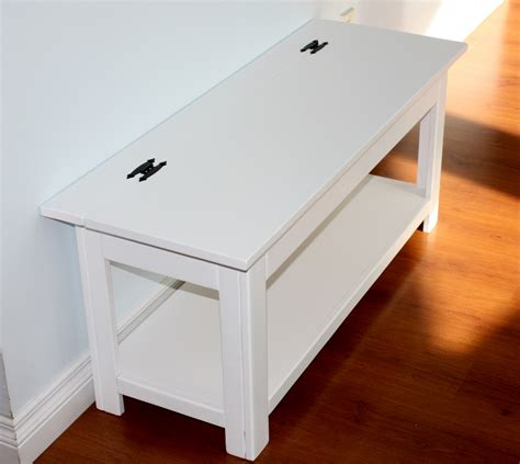flip top bench ana white flip top storage bench diy projects