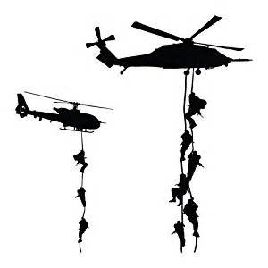 Aircraft Wall Murals amazon com military helicopter troopers rappelling wall