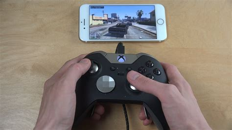 gta 5 iphone 7 nvidia gamestream xbox elite gamepad moonlight gameplay review