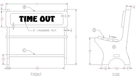 timeout bench how to build a time out bench free woodworking plans from lee s wood projects