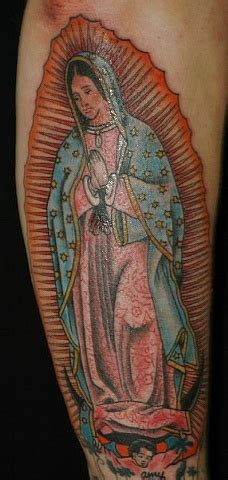 our lady of guadalupe tattoo glenside our of guadalupe