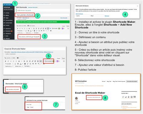 coding shortest des shortcodes tr 232 s utiles pour votre