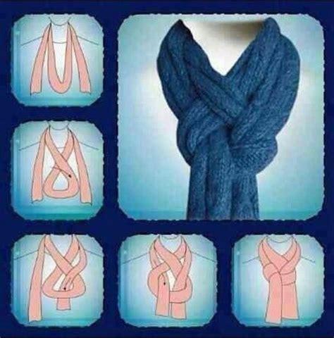 way to wear a scarf scarves not crochet ok