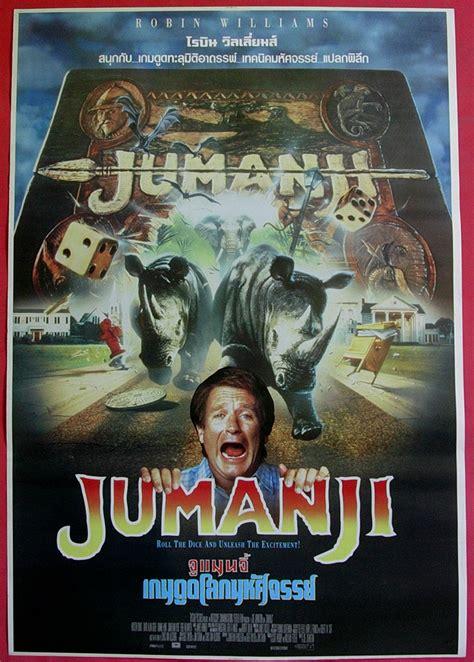 jumanji movie pic jumanji thai movie poster 1995 robin williams preciously