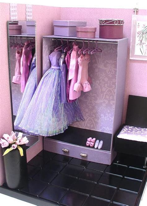 Diy Doll Closet by Doll Divas Create Custom Storage Closet For 1 6 Dolls