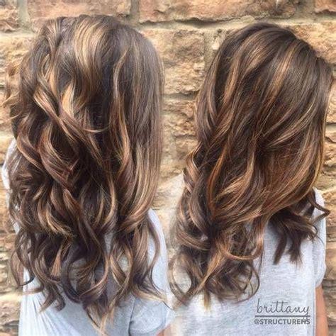 hairstyles type carmel trendy 2016 najładniejsze baleyage w odcieniach brązu