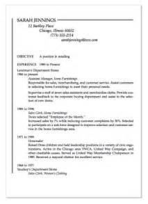exle of homemaker resume http exleresumecv org