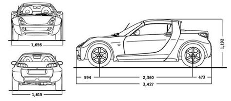 what is the length of a smart car smart car dimensions 2017 ototrends net