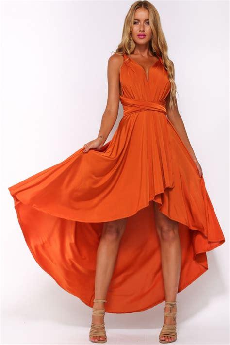 Dress Wanita Orange best 25 burnt orange dress ideas on brown