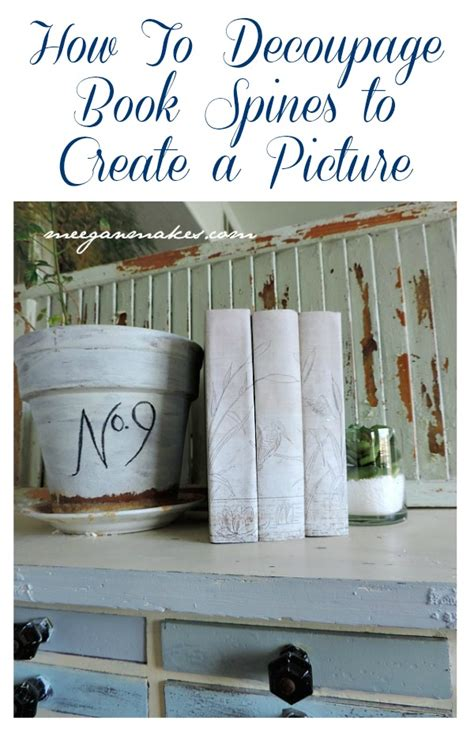 chalk paint books how to decoupage a book cover book covers decoupage and