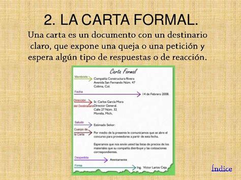 carta formal qe es trabajo folleto y carta formal