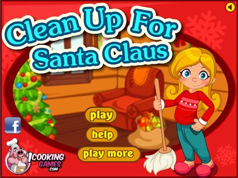 cleaning games for girls clean up for santa claus game games for girls box