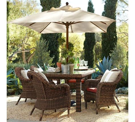 pottery barn patio umbrella 20 best images about offset cantilever and patio umbrellas