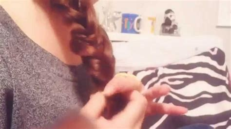 fishtail side braid easy youtube
