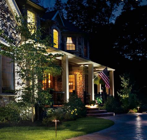 Led Light Design Captivating Kichler Led Landscape Landscape Lighting Dallas Tx