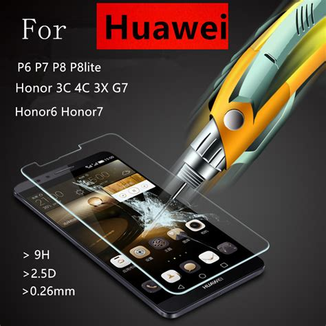 Tempered Glass For Huawei P6 tempered glass explosion proof screen protector for
