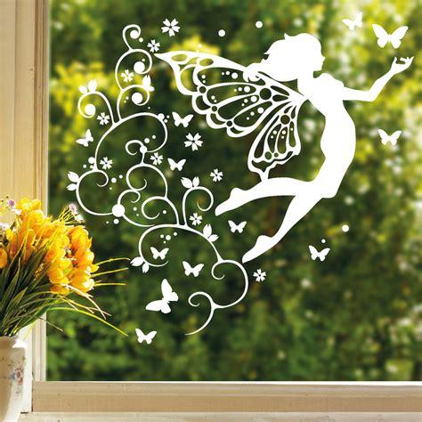 Fenster Aufkleber Bestellen by Fensteraufkleber Elfe Mit Ranken Wandtattoo Loft