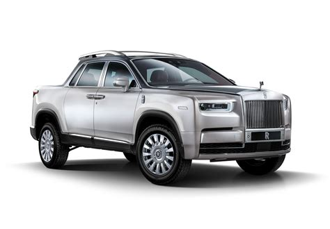 Rolls Royce Truck Rendering Is One Utilitarian
