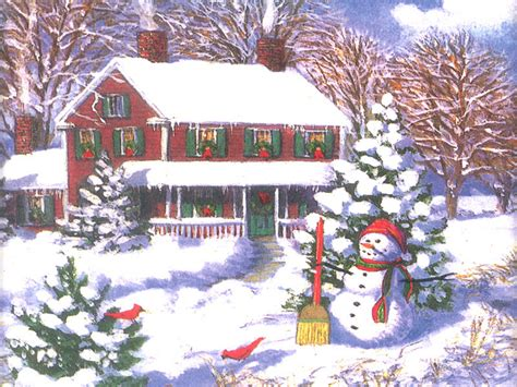 images of christmas scenes christmas scene christmas wallpaper 2736036 fanpop