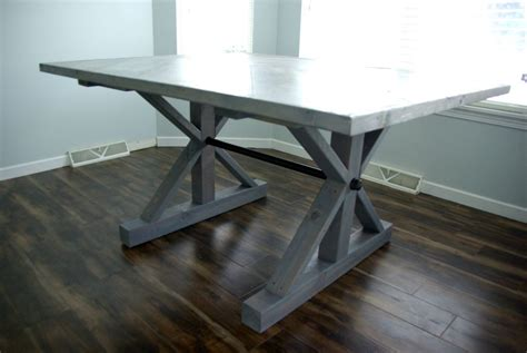 Dining Table Ideas by Diy A Farmhouse Table Modernizing The Traditional