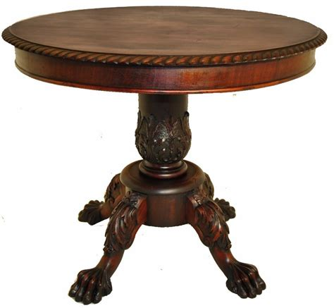 Antique Table antique second empire american mahogany carved center