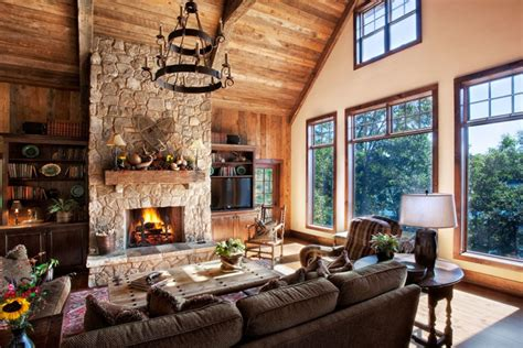 stone wall living room 19 rustic living room designs decorating ideas design