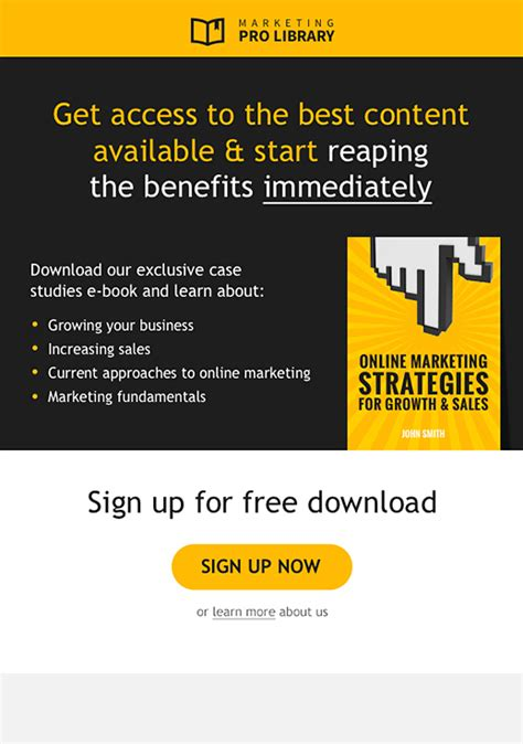 commerce newsletter templates email marketing