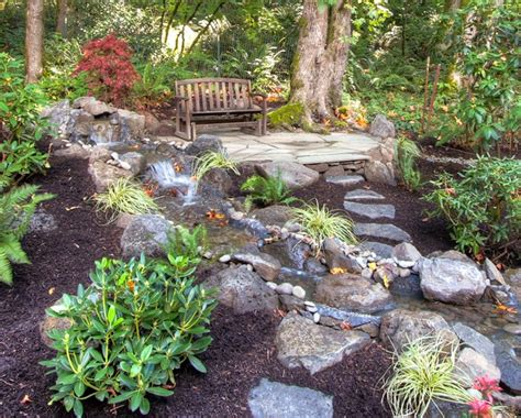 private paradise portland landscaping rustic landscape portland by paradise restored