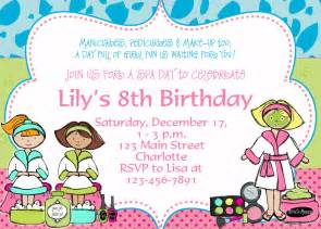 spa birthday invitation template free birthday invitation templates drevio