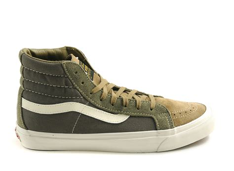 Wtaps X Vans Sk8 Hi Bibes Pack Olive what s something expensive you weren t sure about buying