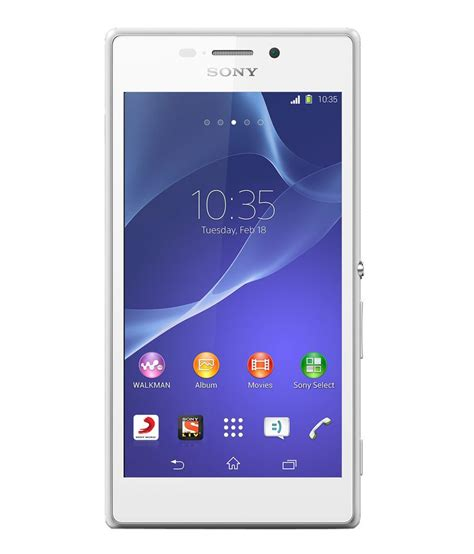 Hp Sony Xperia M2 Detail sony xperia m2 dual 8gb white price in india buy sony