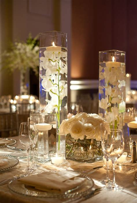 table centerpieces 31 chic wedding reception and ceremony ideas from