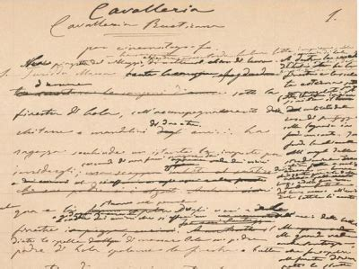 cavalleria rusticana verga testo verga il giallo delle carte e cavalleria rusticana