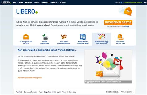 libero mail on behance