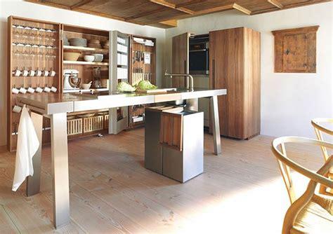 moderne offene küche holzboden k 252 che offene