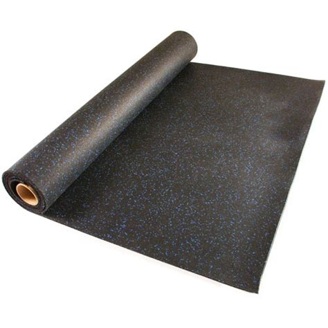 Rubber Mats by Home Rubber Flooring Roll 4x10 Ft X 1 4 Inch Home
