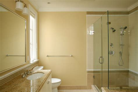 paint colors for bathrooms with beige tile what is the exact paint color on the wall and the beige