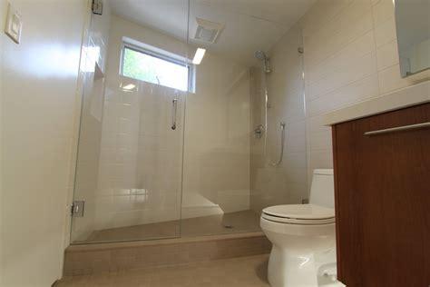 video bathroom shower doors and paint in mid century modern bathroom