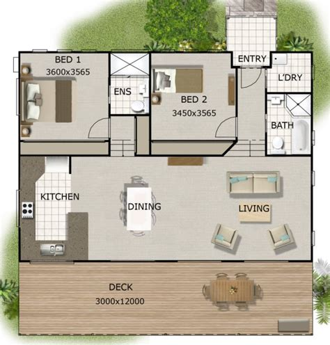 2 bedroom low set home australian kit homes 2 bedroom